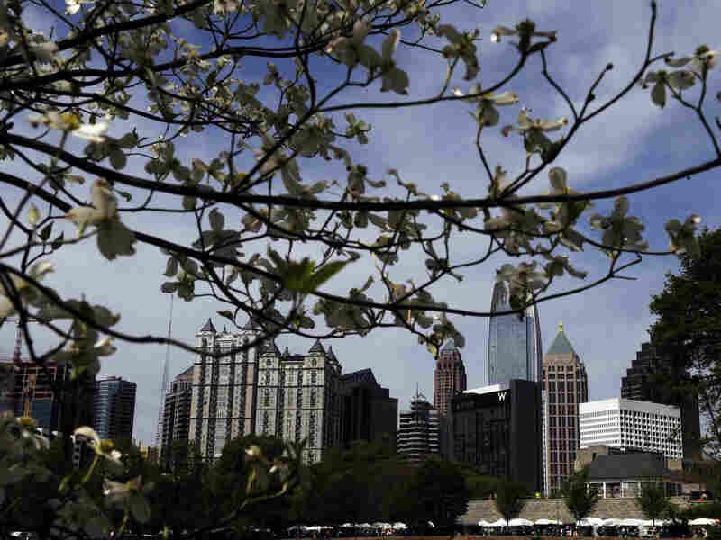 Advocate magazine ranked Atlanta America's gayest city.