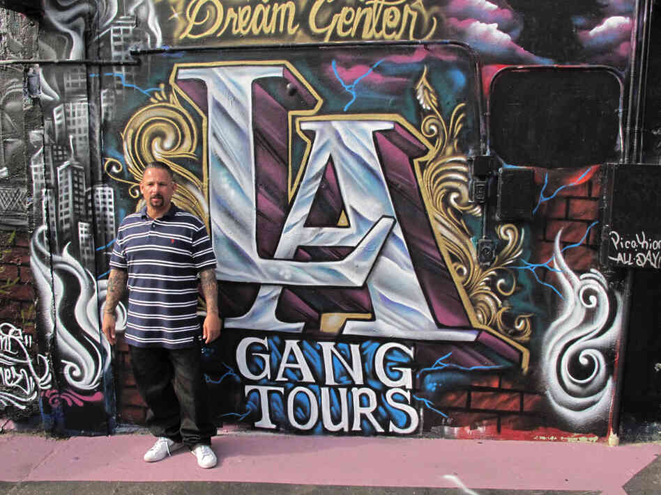 Alfred Lomas used to be a member of the Florencia 13 Gang. Now he runs the LA Gang Tours.