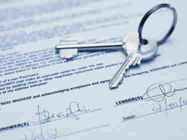 Keys on a lender agreement
