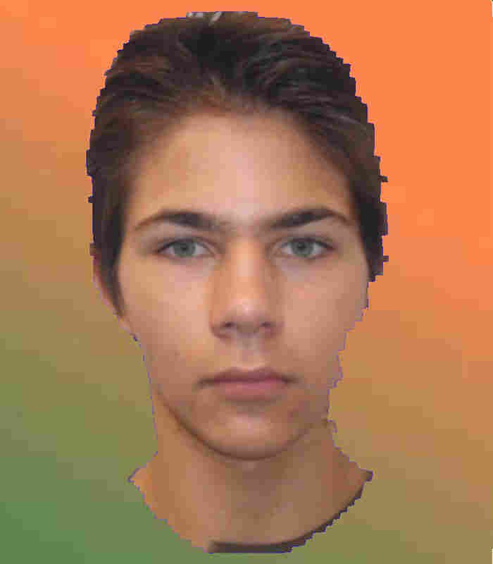 A teen's face simulated at six months of meth use. Courtesy Laslo Vespremi