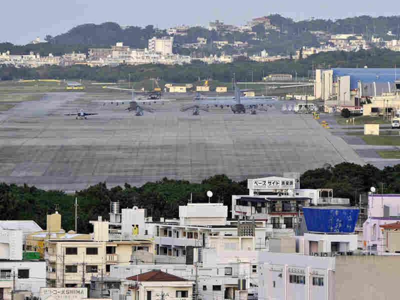 U.S. Marine Corps Futenma Air Base in Ginowan, Okinawa