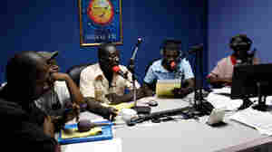 Haitians Find Lifeline In Local Radio Station