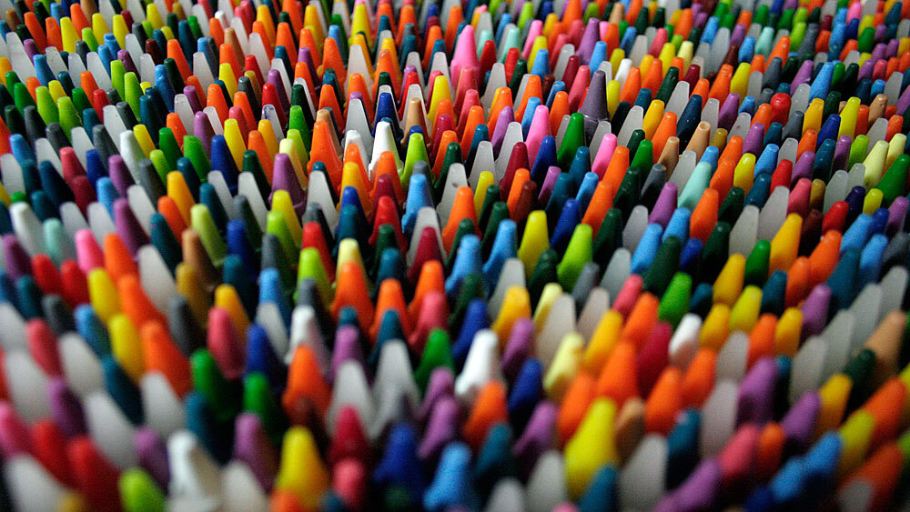 crayons and choice a headache in 120 colors the picture show npr