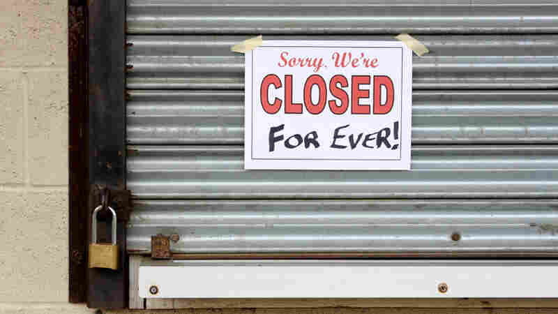 In California, Small Businesses Hit By 'Perfect Storm'