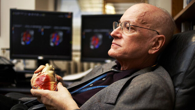 Dr. Charlie Kleinman got a heart transplant two years ago, but now he's dying of liver cancer.