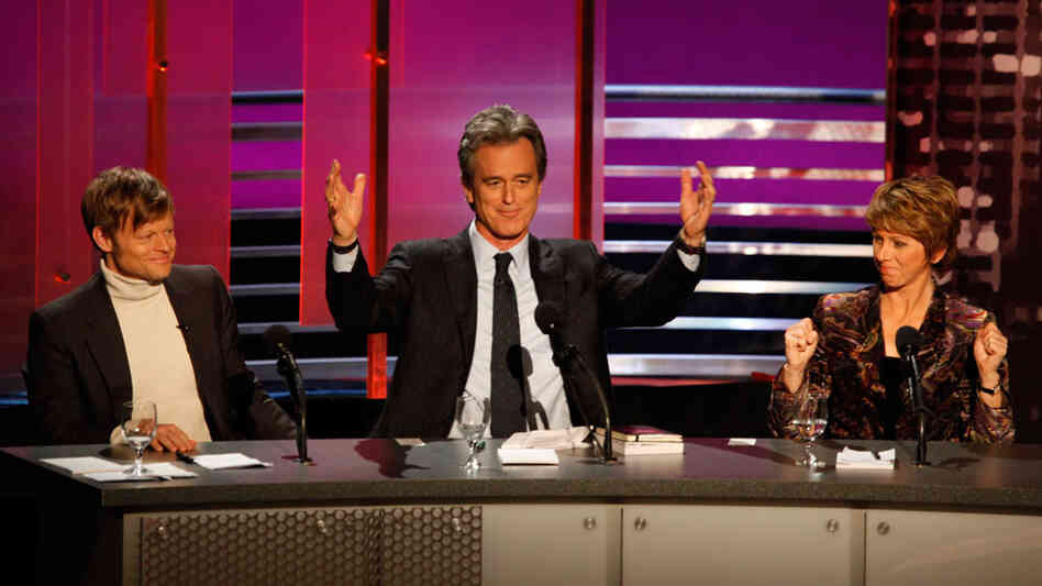 Andreas Kluth, Bobby Shriver and Sharon Waxman won the debate.