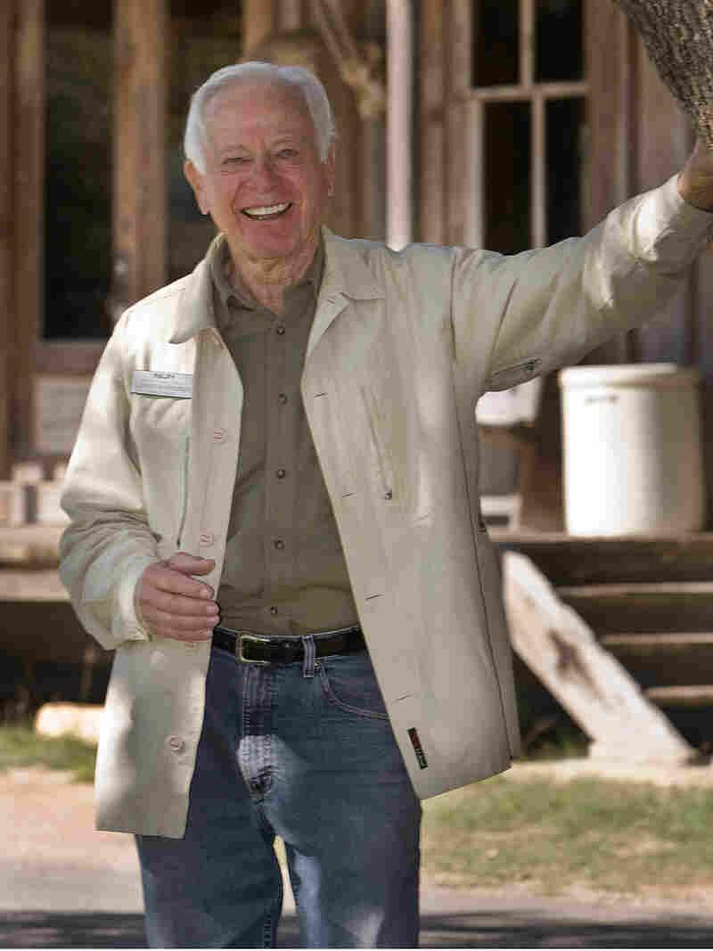 David Bamberger on his Johnson City, Texas, ranch.