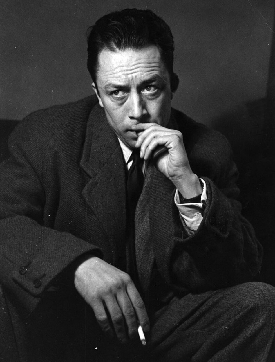 French Writer And Philosopher Albert Camus Shown Here In An Undated Photo Won The