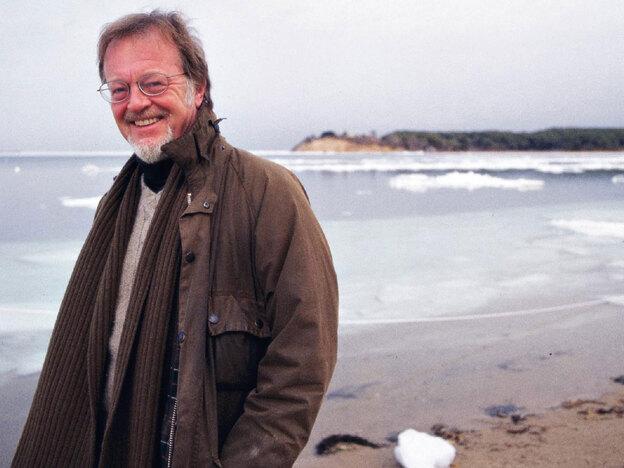 Bernard Cornwell, author of The Burning Land