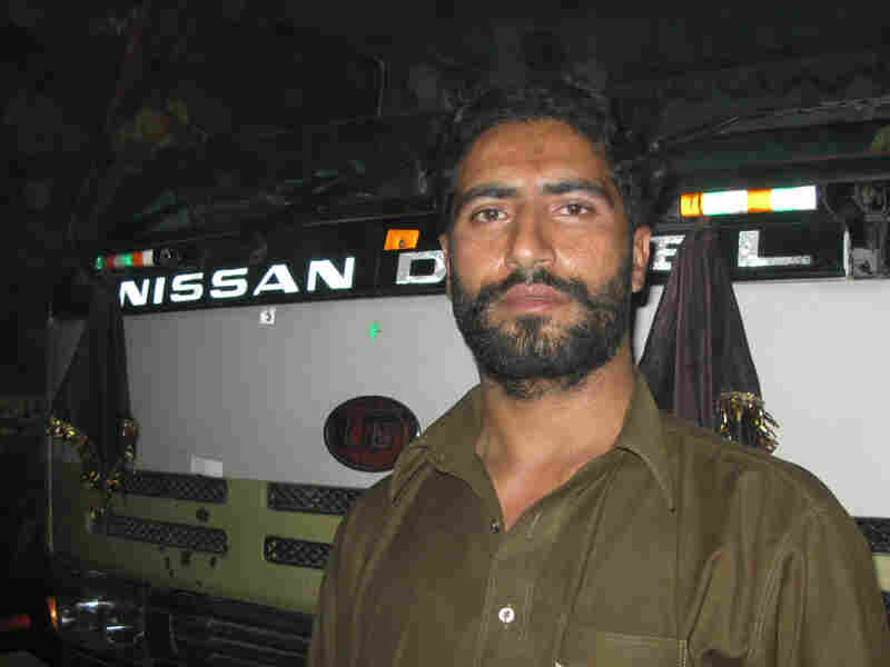 Pakistani truck driver Raziq Shah risks his life to bring supplies from Pakistan into Afghanistan.