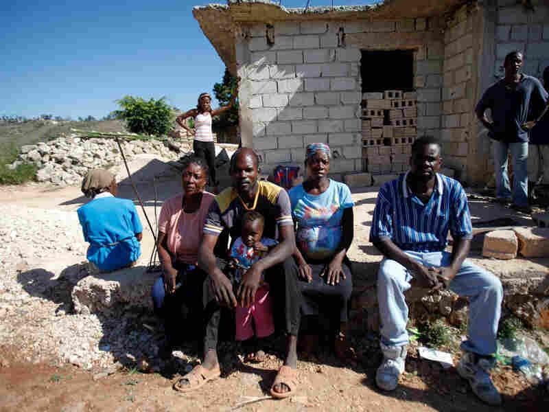 Haitians hand over children