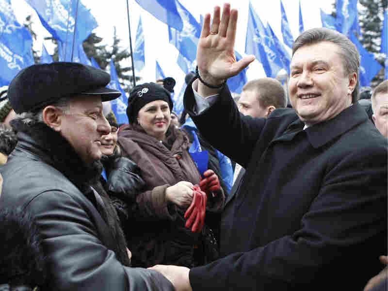Viktor Yanukovych, a pro-Russia presidential candidate in Ukraine