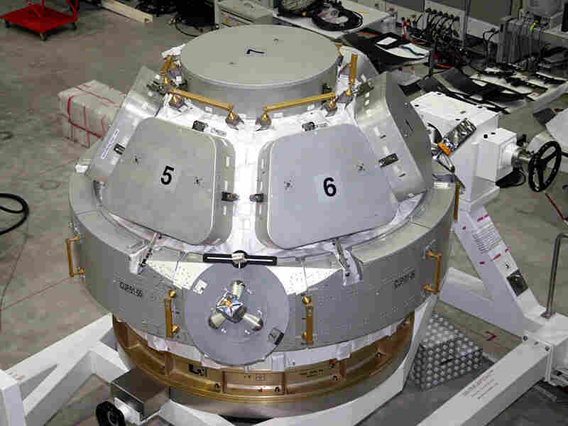 Cupola is a pressurized space station element with seven windows.