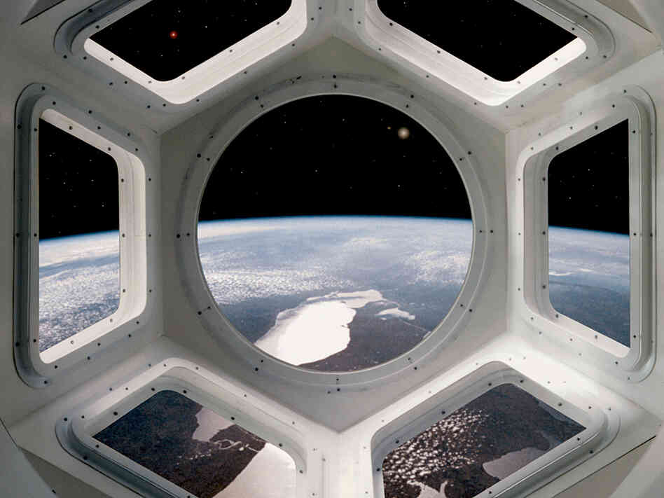 Forget Portholes, Space Station Gets 360-Degree View : NPR