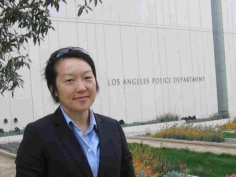 Julianne Sohn, now an officer with the LAPD, was forced to resign from the Marines.