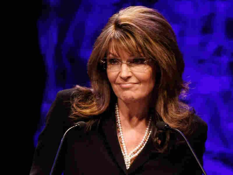 Sarah Palin at the Tea Party convention.