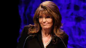 Sarah Palin at the Tea Party convention.