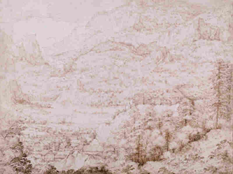 A drawing that was until recently attributed to the Renaissance-era artist Pieter Bruegel.