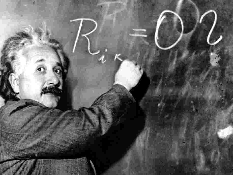 Albert Einstein was though to have had Asperger's syndrome.
