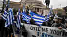 Greek ultra right-wing activists demonstrate in central Athens on Feb. 6.