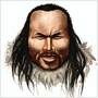 "An artist's Impression of ""Inuk,"" a 4,000-year-old human whose remains were found in Greenland."