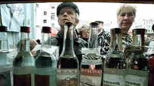 Leaders Try To Cap Russia's Vodka Habit ... Again