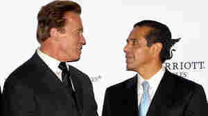 California Gov. Arnold Schwarzenegger and Los Angeles Mayor Antonio Villaraigosa