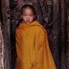 Novice Buddhist monk in Myanmar's eastern Shan state