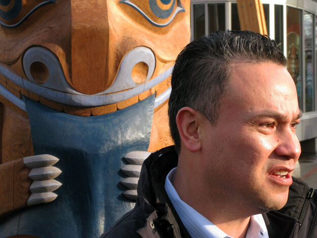Tewanee Joseph is CEO of the Four Host First Nations Society, the entity created by the four native groups whose traditional land is the site of the 2010 Olympics.