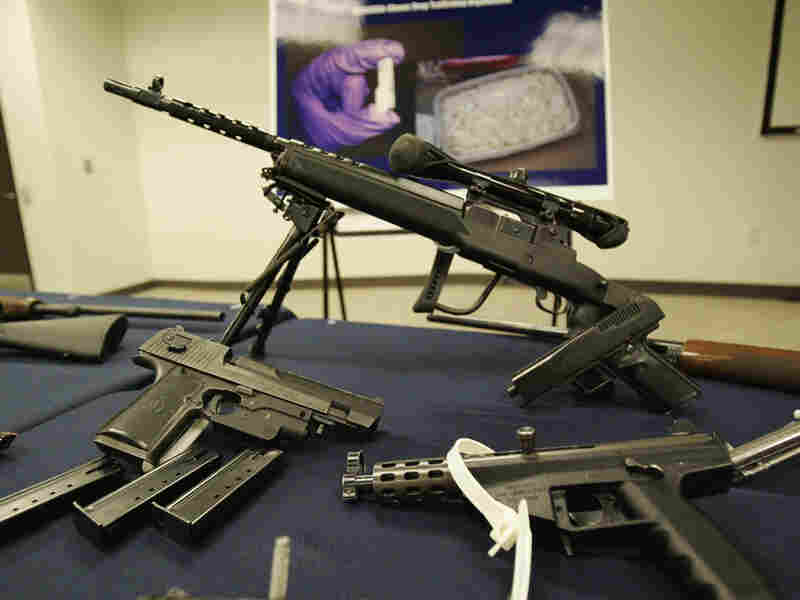 "In Operation ""Arctic Chill,"" federal agents seized guns and arrested 31 people last July."