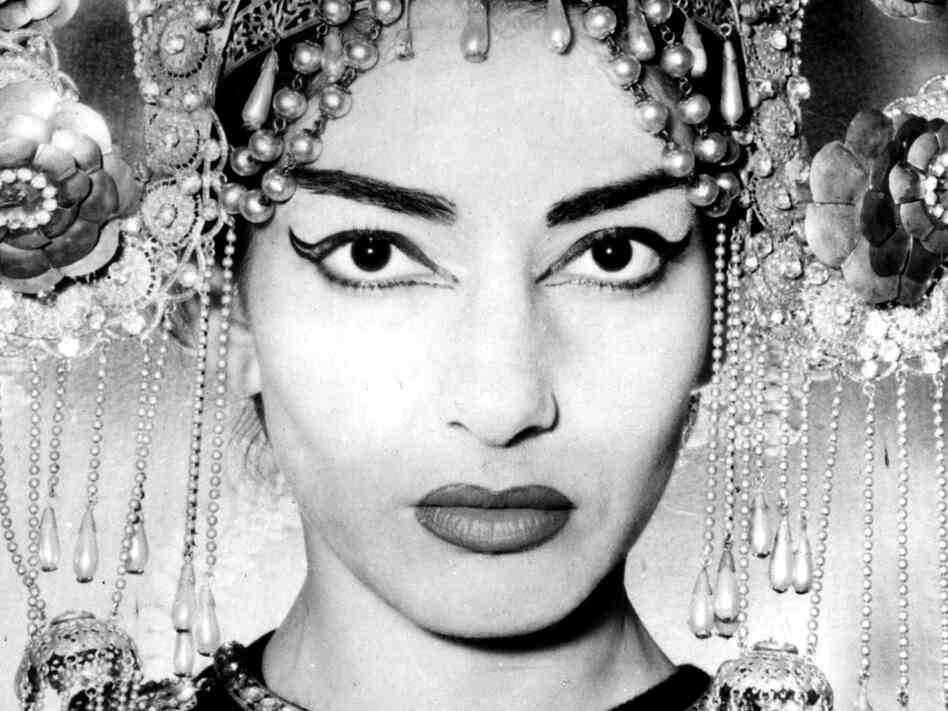 Maria Callas as Turandot