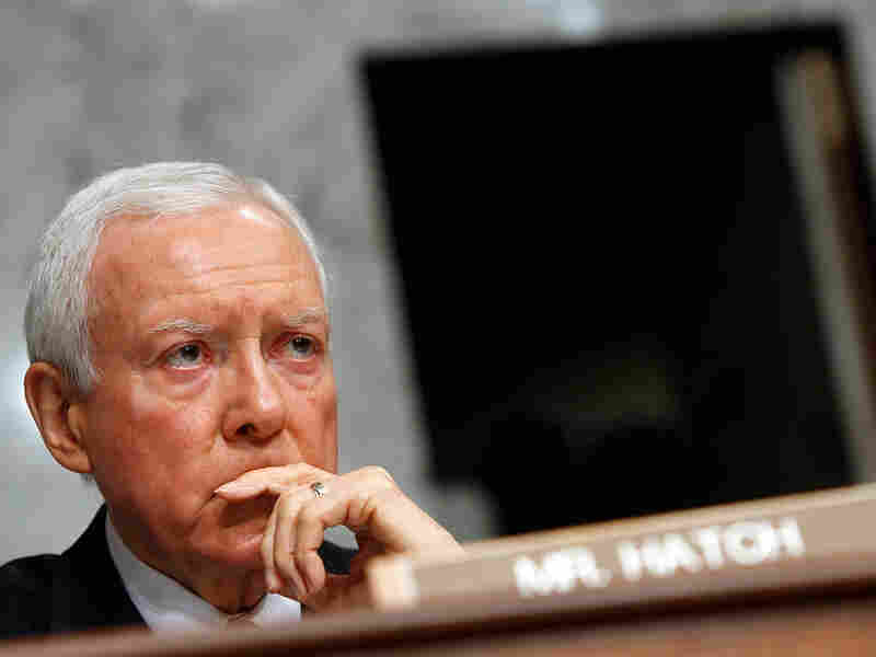 Sen. Orrin Hatch (R-UT) opposes an 'individual mandate' in Democratic bills.