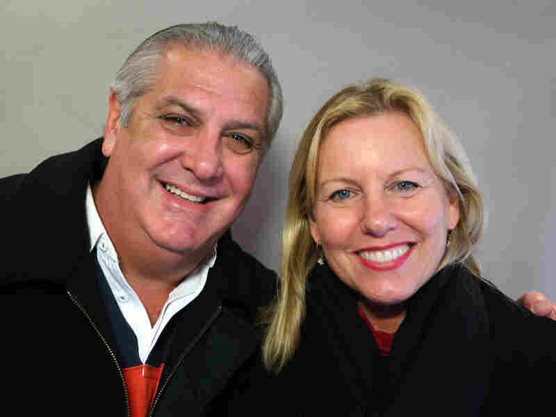 Dr. Pedro Greer visited StoryCorps with his wife, Janus.