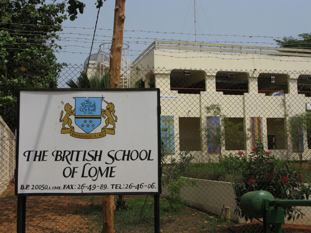 Abdulmutallab attended boarding school at The British School of Lome in Togo.