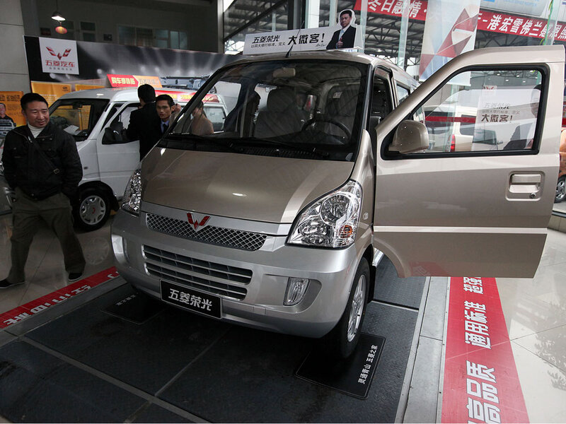 Gm S 5 000 Minivan A Hit In China