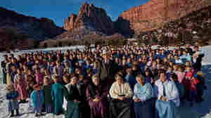 An elder of the (FLDS) with his family.