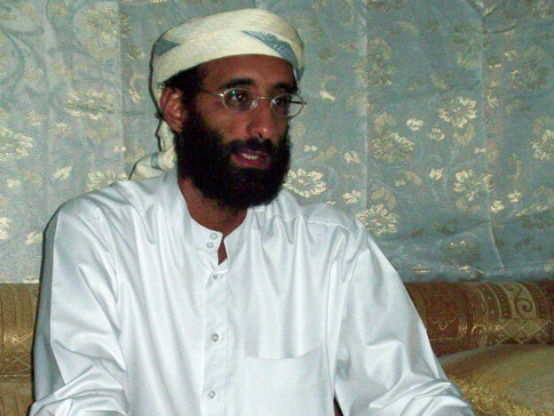 Radical American-Yemeni Islamic cleric Anwar al-Awlaki has been linked to al-Qaida and deemed a national security threat to the United States. (AP)