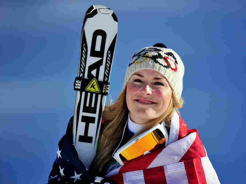 Lindsey Vonn won the gold medal in the Alpine skiing women's downhill at Whistler Creekside.