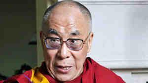 The Dalai Lama during a visit to Southern California on Saturday.