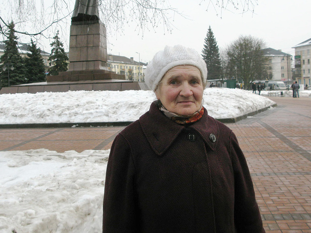 Russian retiree Leokadya Maximova, 72, of Kaliningrad says she is struggling to get by on her $265-a-month pension. She says the situation will prompt her to take to the streets with other anti-government protesters.