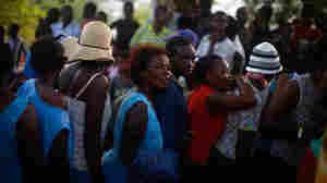 Aid Groups Fret As Haiti Giving Slows Down