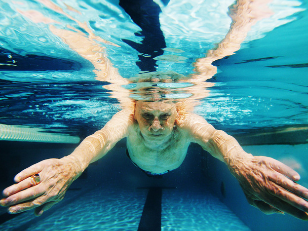 As we age, our muscles deteriorate, and they don't repair as quickly as they used to.  But the good news is that exercise and weightlifting can still make muscles stronger.