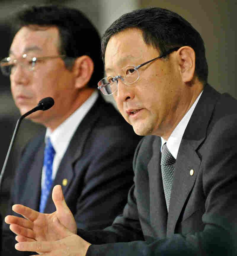 Toyota Motor president Akio Toyoda