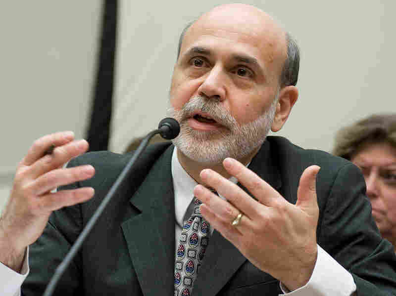 Ben Bernanke testifies at a House Financial Services Committee hearing