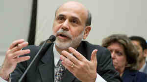 Ben Bernanke testifies at a House Financial Services Committee hearing
