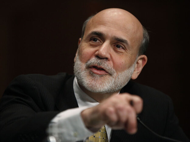 Federal Reserve Chairman Ben Bernanke testifies Thursday before the Senate Banking Committee.