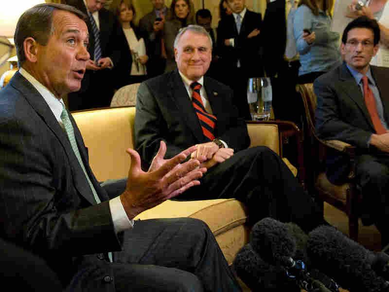 Mitch McConnell, John Boehner, Jon Kyl and Eric Canton