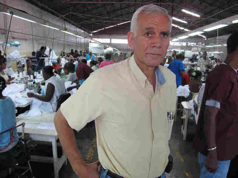 Charles Baker, owner of One World Apparel