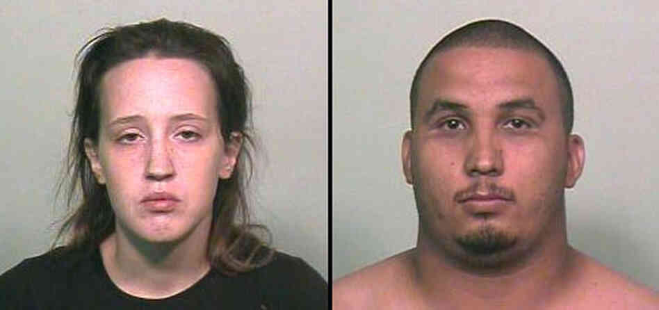 Tye Nicole Johnson, left, and Eddie Valdez