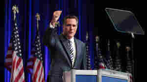 Former Mass. Gov. Mitt Romney speaks to CPAC Conference attendees.